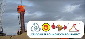 cesco deep foundation equipment