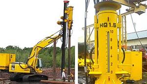 HQ15 hydraulic impact hammer