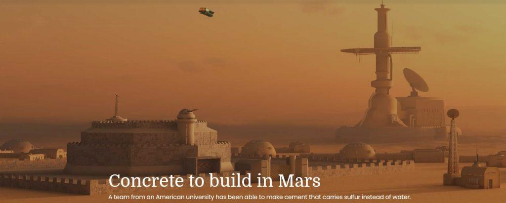 Mars ConcreteBuilding