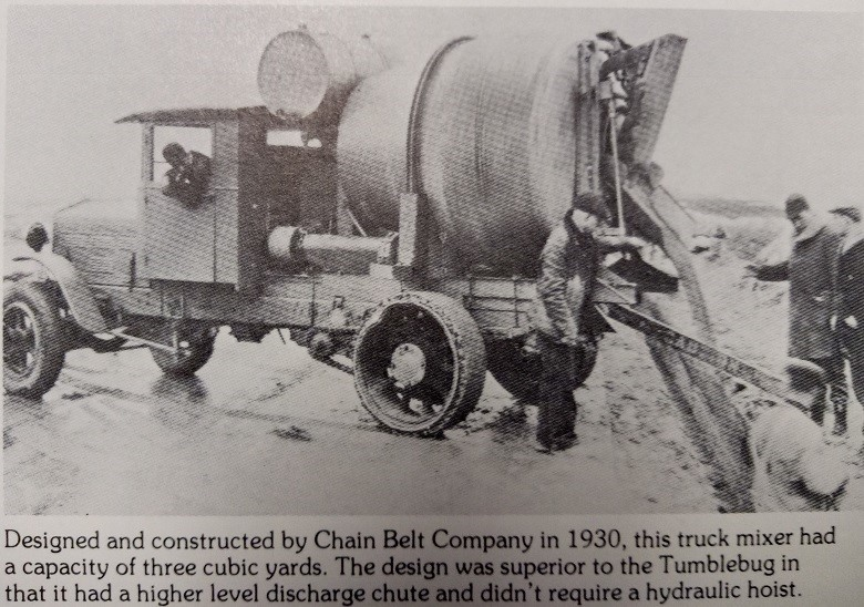 The History of the Transit Mixer in Aust2